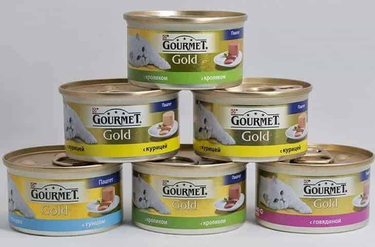 tins of cat food