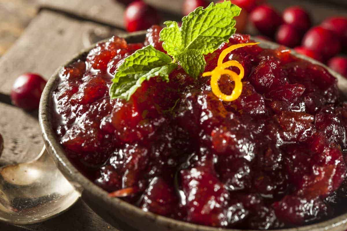 can dogs eat cranberry sauce